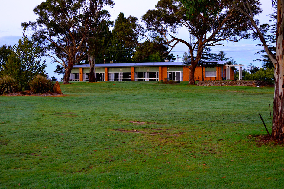Glen Innes Golf Club clubhouse