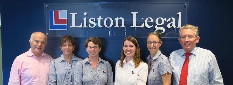 Liston Legal team