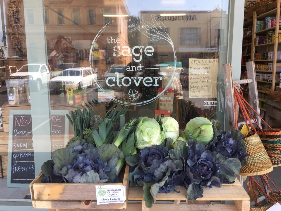 The Sage and clover